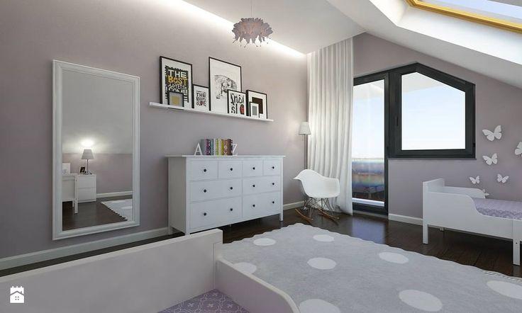 Minimalistyczny Dom w Gdyni Obłuże - zdjęcie od Malee - Projektowanie z pasją - Pokój dziecka - Styl Klasyczny - Malee - Projektowanie z pasją