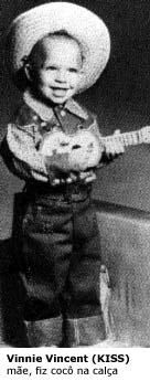 Vinnie Vincent as a Kid