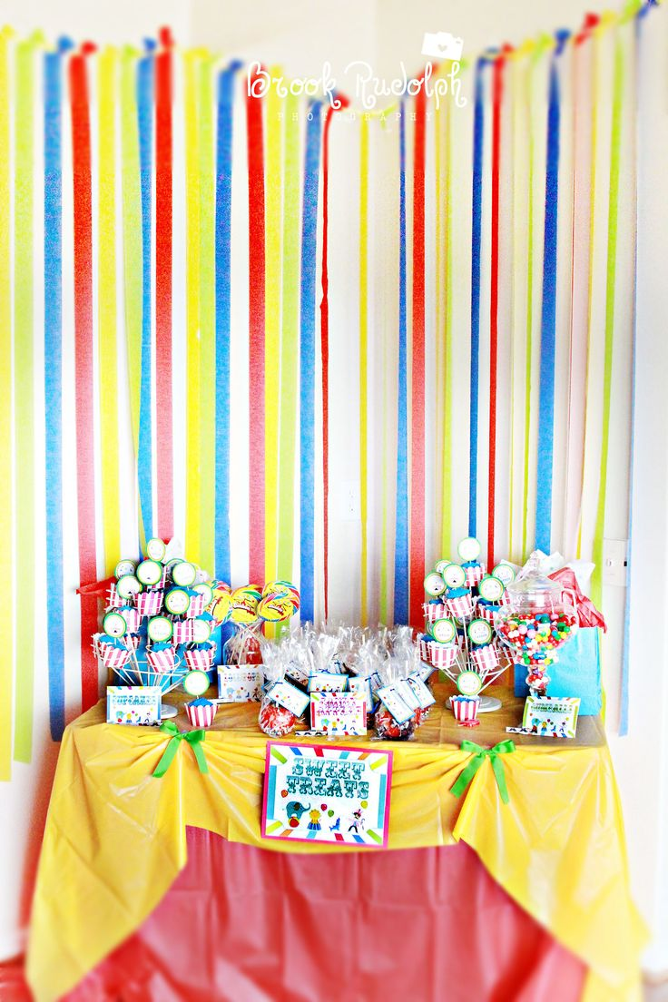 Carnival Themed Party Event Planning Pinterest
