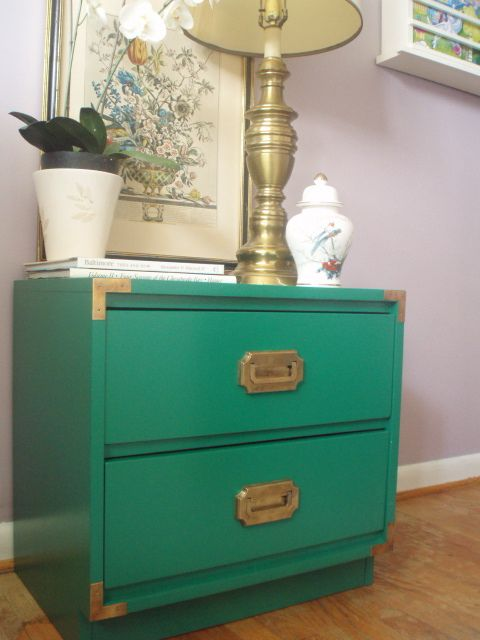 """""""How do I paint...?"""" : Painting Campaign Furniture Tutorial"""