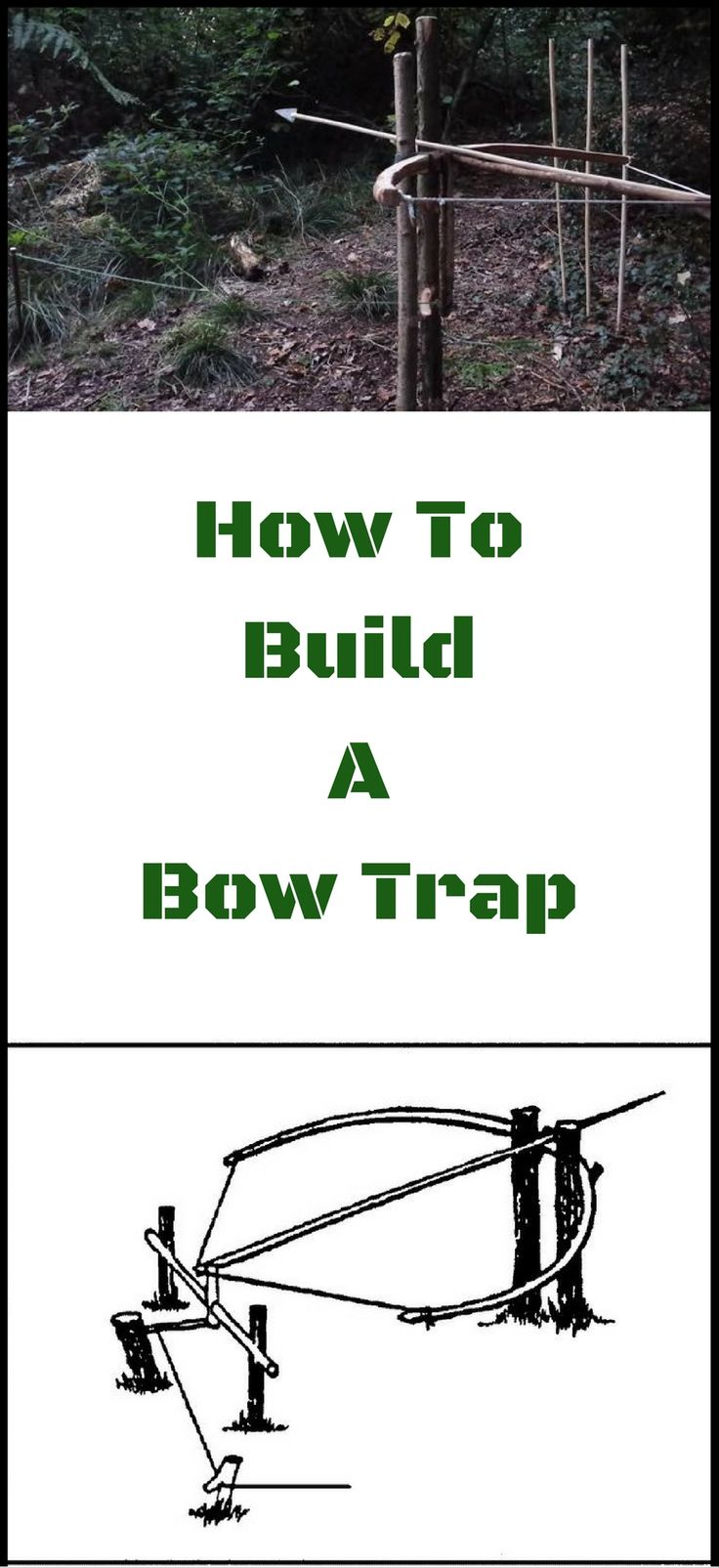 How To Build a Bow Trap http://vid.staged.com/8Oet