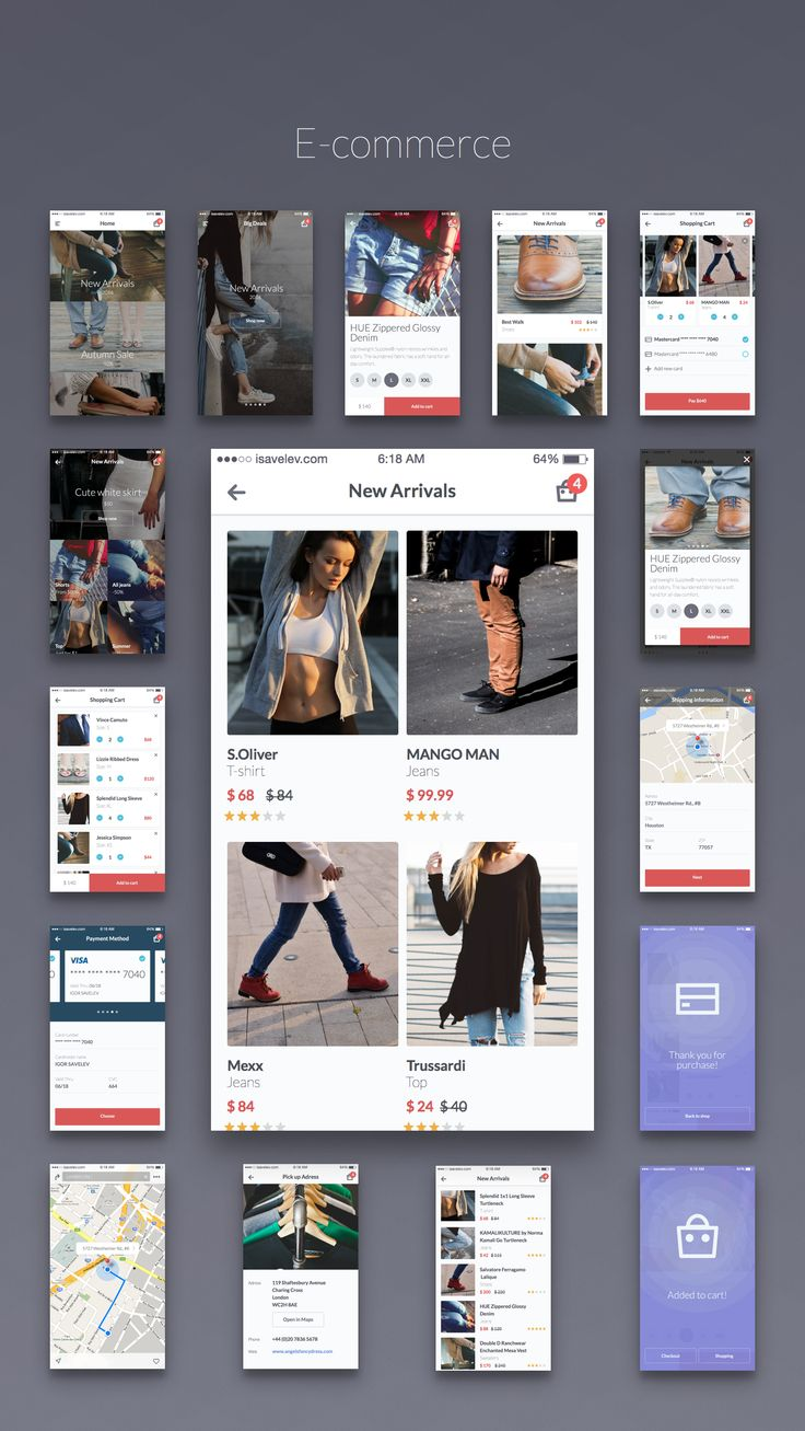 Kama - iOS UI Kit on Behance