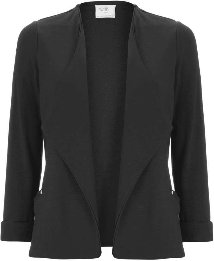 Petite Black Short Jacket