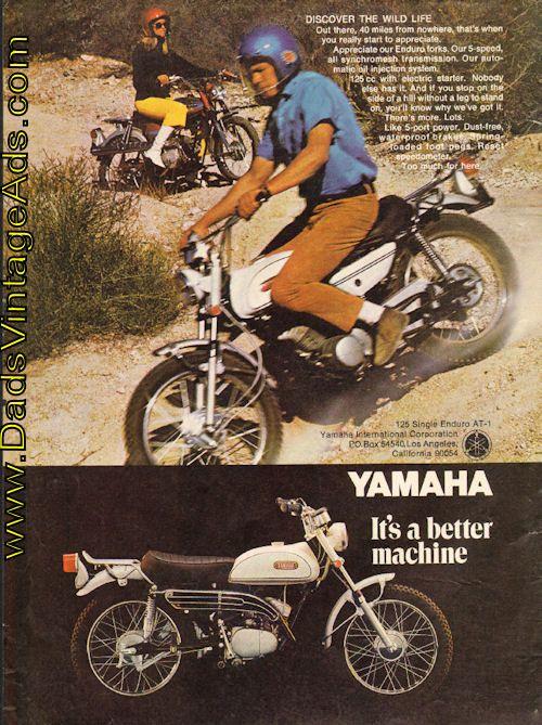 1969 Yamaha 125 Single Enduro AT-1 – Discover the Wild Life