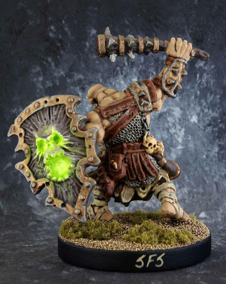 77105: Kagunk, Ogre Chieftain  - Back