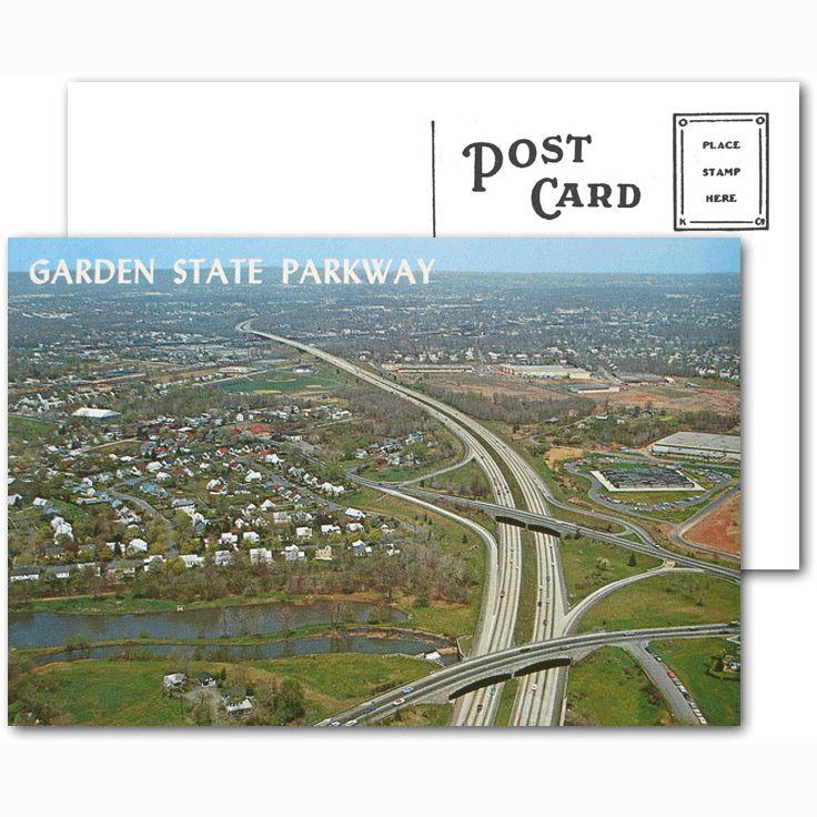 Garden State Parkway Postcard