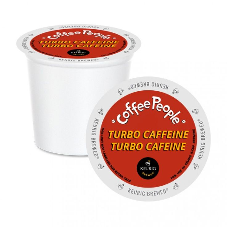 Coffee People Turbo Caffeine XB K-Cup® Pods 24 Pack   A full-bodied extra bold coffee that packs a punch! A great coffee for late study nights. #dorm #student