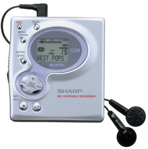 Sharp MD-MT180 Mini-Disc Recorder/Player