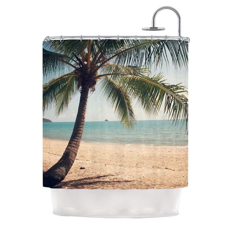 "Kess InHouse Catherine McDonald ""Tropic of Capricorn"" Ocean Photography Shower Curtain"