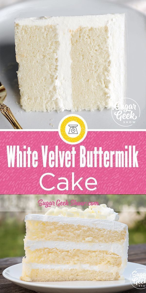 White Velvet Cake Recipe Color Variations Sugar Geek Show Recipe Buttermilk Cake Recipe Desserts Velvet Cake Recipes