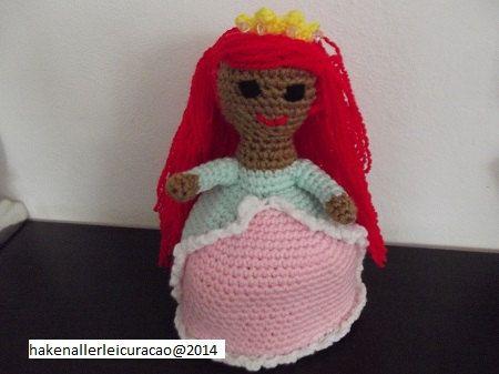 Omkeerpop haak patroon  prinses Ariel - kleine zeemeermin door DushiAmigurumi op Etsy