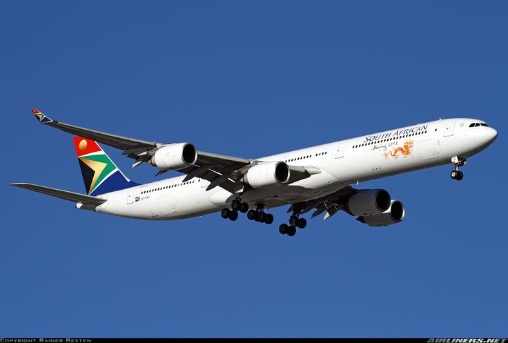 South African Airways ZS-SNG Airbus A340-642 aircraft picture
