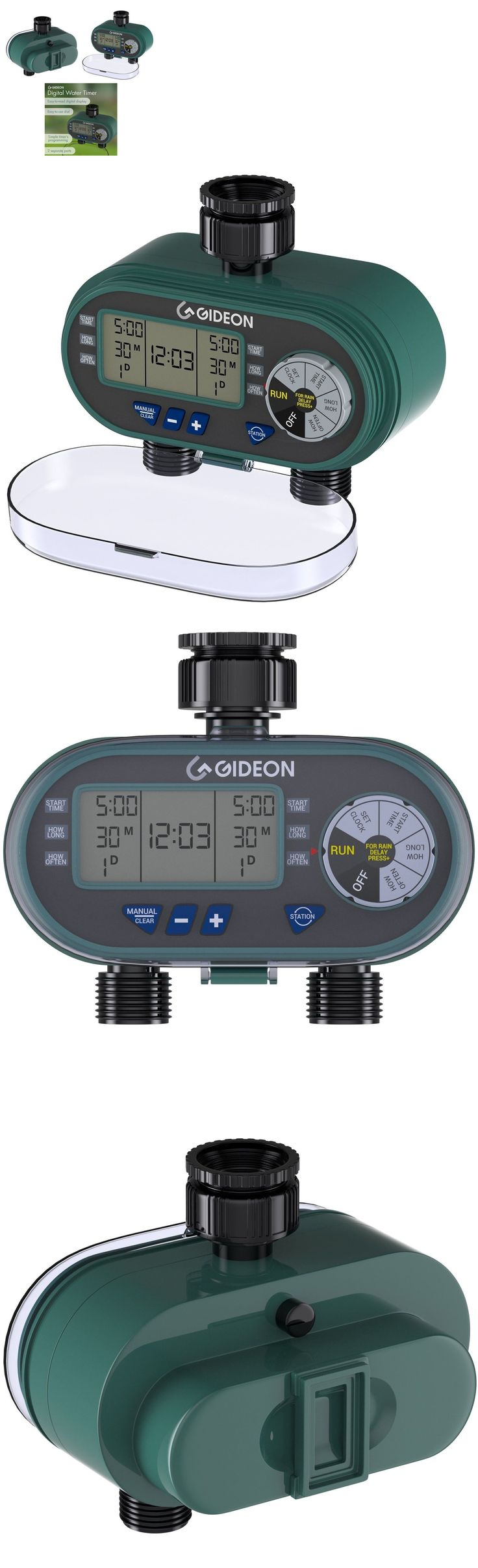 Watering Timers and Controllers 75672: Water Timer Sprinkler Automatic System Electronic Irrigation Garden Watering Kit -> BUY IT NOW ONLY: $56.59 on eBay!