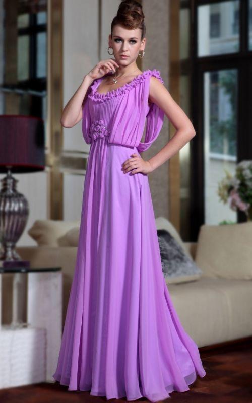 ロイヤル仕様のマーメイドパープルロングドレス♪大切な場所に、、、 - ロングドレス・パーティードレスはGN 演奏会や結婚式に大活躍!