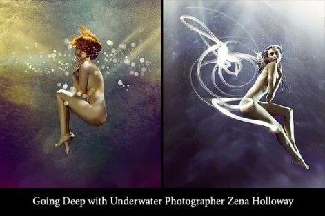 Underwater photographer Zena Holloway shares her remarkable story and breathtaking underwater images that span across the commercial and fine art genres.