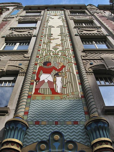 262 best images about EGYPTIAN REVIVAL ARCHITECTURE on ...