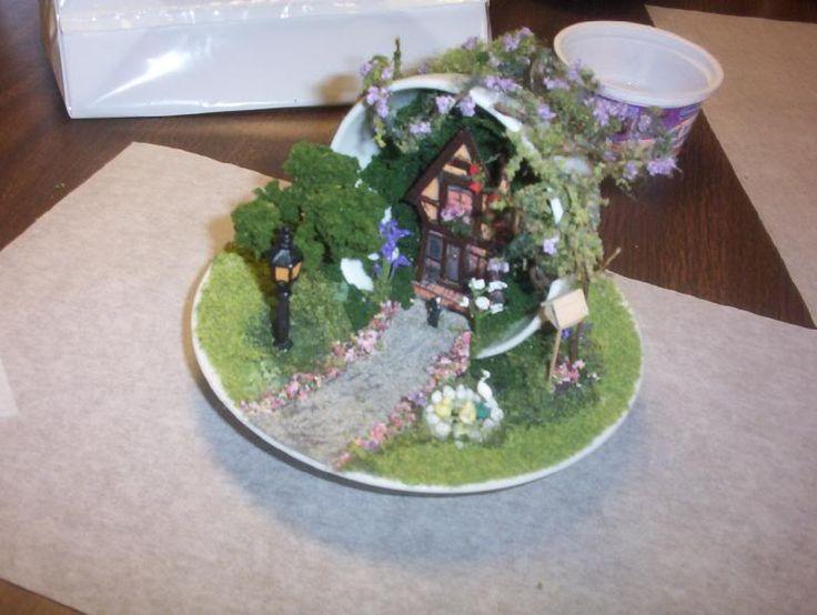 mini teacup fairy home and garden