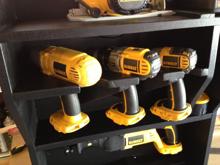 power tool storage - Google Search