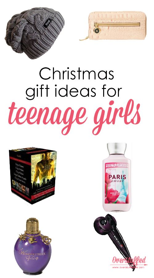 Christmas gift ideas for teenage girls--find the perfect gift for the teenager in your life! #overstuffedlife