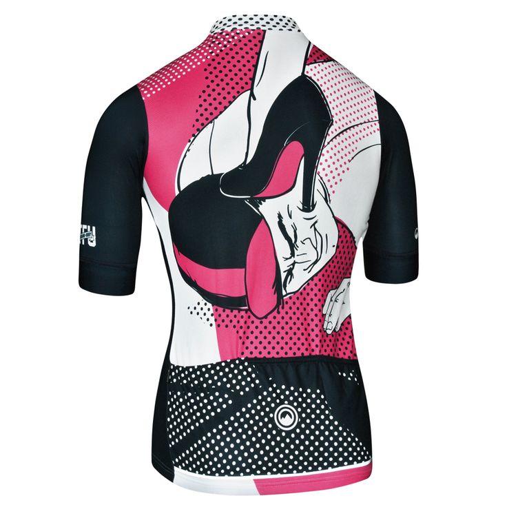 Honey Women Jersey - Short Sleeve Women's Cycling Jersey by Milltag