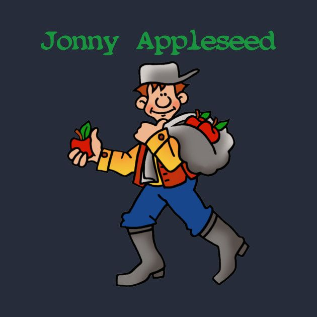 Check out this awesome 'Johnny+Appleseed+Apple+Tree+Orchard+Nursery+Seed' design on @TeePublic!
