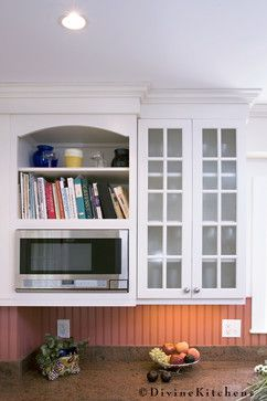 Microwave Shelf Design Ideas, Pictures, Remodel, and Decor