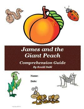 This is a FREE reading comprehension activity guide and answer key for James and the Giant Peach by Roald Dahl.  It contains 57 total pages of activities, and answer key, and rubrics. We use this in our classroom and the students love it!