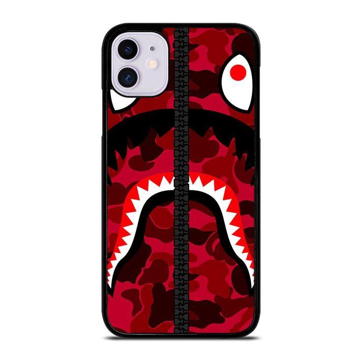 Bape logo red iphone 11 case iphone 11 case iphone