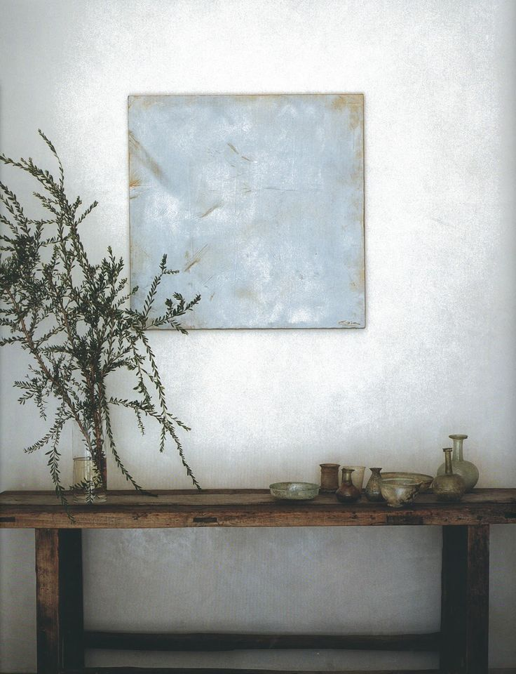 """Aesthetically Thinking: Ma. Michael and Alexandra Misczynski understand completely and viscerally what the Japanese call """"Ma"""". The unseen energy surrounding objects, or rather the intrinsic importance of having open space in a house, as it is the void that is after all the beginning of everything."""
