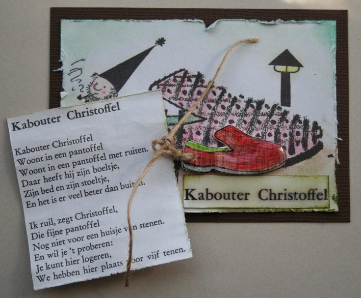 lijntje scrapt: Kabouter Christoffel