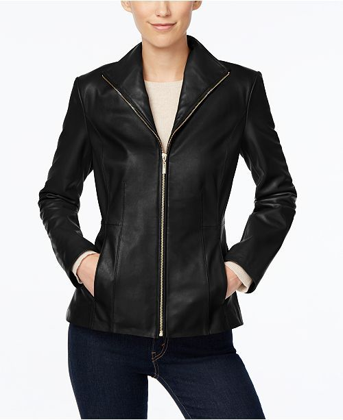 0fcee310ffaa2 Cole Haan leather jacket. Cole Haan leather jacket Plus Size ...
