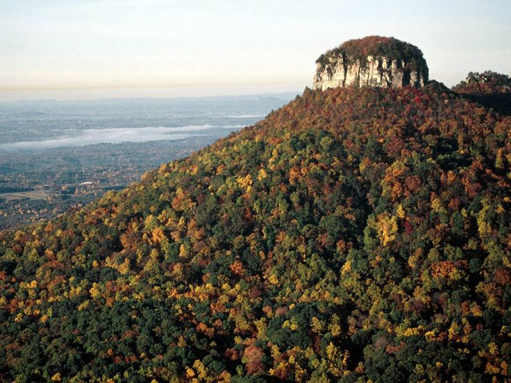 pilot mountain, nc. i spent many a weekend here growing up.