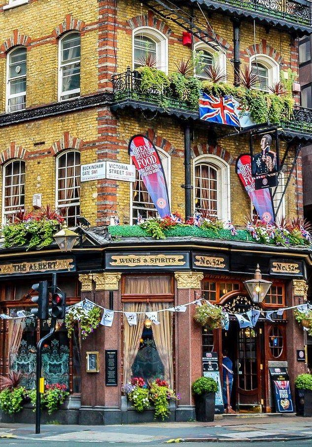 The Albert Tavern London England 191