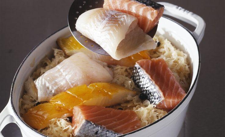 Recette de choucroute de poisson