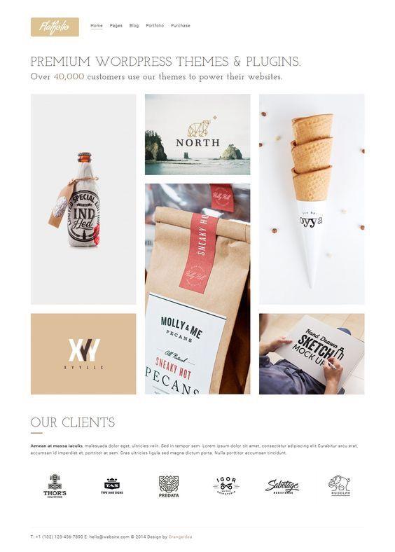 FLATFOLIO - Portfolio & Agency Theme. Download: http://themeforest.net/item/flatfolio-premium-portfolio-agency-theme/9496613?ref=skarin