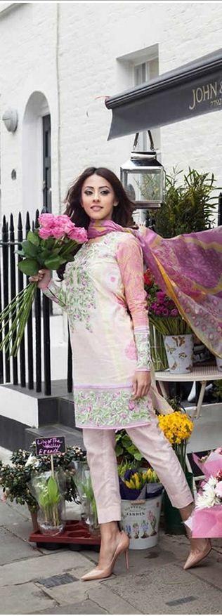 #FarahTalibAziz Lawn Collection 2015 #lawndresses