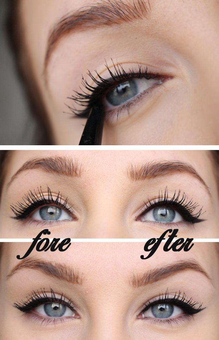 SMINKTIPS – Intensivare ögon och snyggare eyeliner. | Helen Torsgården