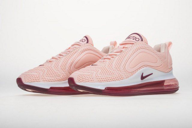 Nike Air Max 720 Women S Running Shoes Pink White