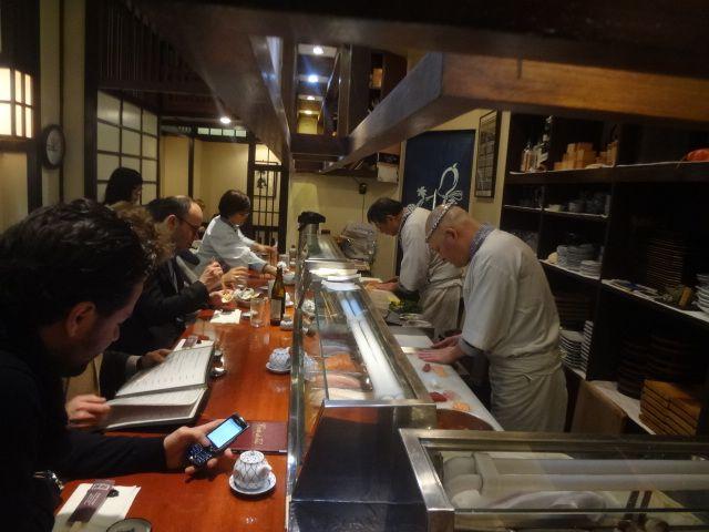 Tzukizi, un sushi-bar comme à Tokyo