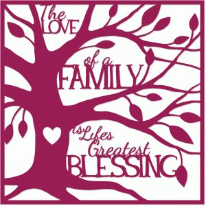 Silhouette Design Store - View Design #65404: love of a family 12x12 layout
