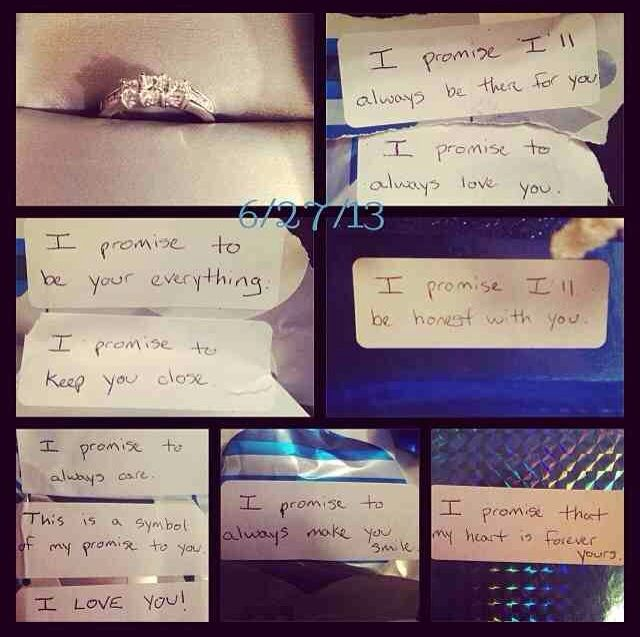 Cute Ways To Give A Guy A Promise Ring