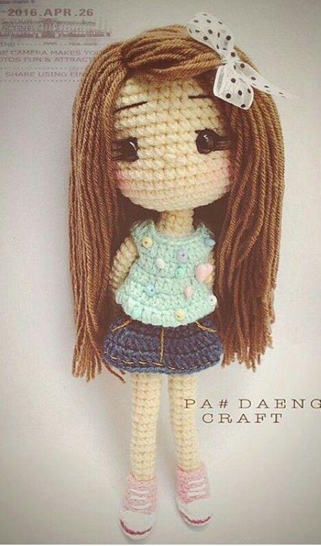 Crochet Pattern Large Doll : The 25+ best ideas about Amigurumi Doll on Pinterest ...