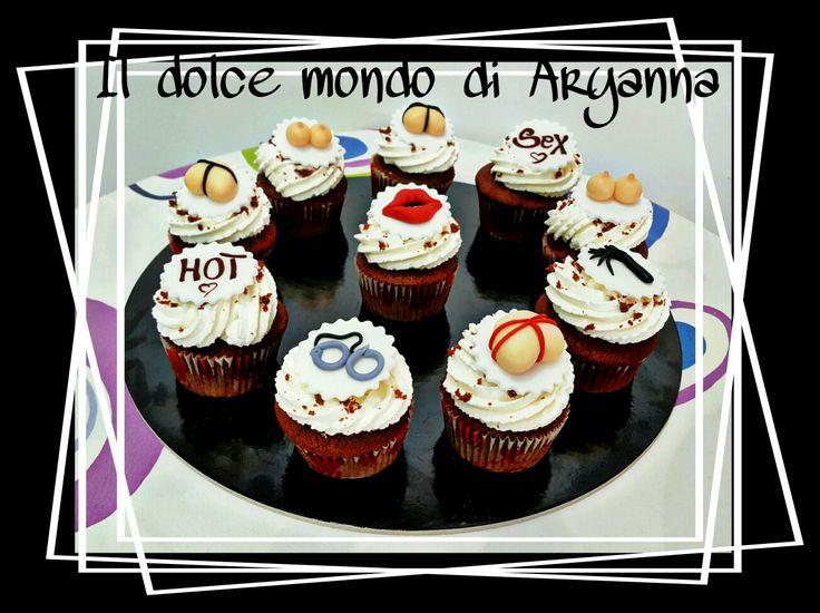 Red velvet cupcakes per il futuro sposo!!
