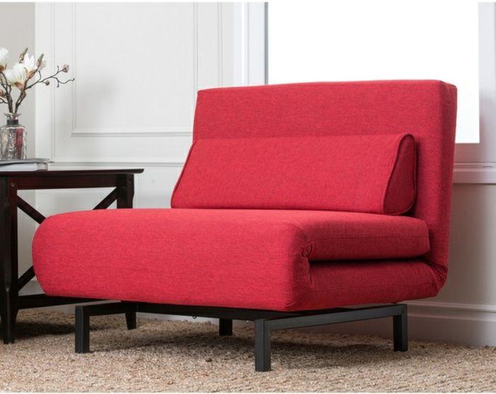 1000 ideas about fauteuil convertible on pinterest canap cuir armchairs - Fauteuil transformable en lit une personne ...