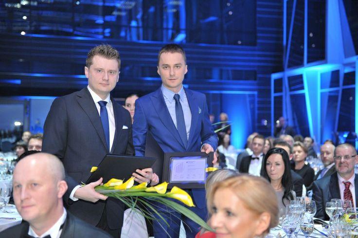 Dawid Urban i Miłosz Dziurłaj, Chic. EY Entrepreneur Of The Year 2013 Poland
