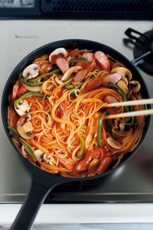 フライパンひとつで作れるナポリタン!?【オレンジページ☆デイリー】料理レシピをはじめ、暮らしに役立つ記事をほぼ毎日配信します!
