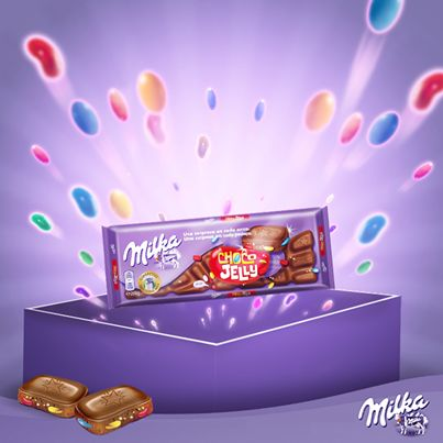 Cinco sentidos na cozinha: Novo Milka Choco Jelly