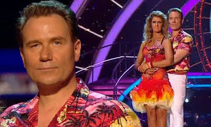 The party's over for Daybreak's Richard Arnold after being voted out of Strictly Come Dancing.  Erin.