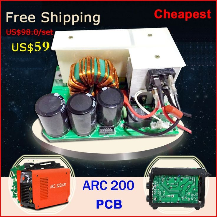 59.00$  Watch now - http://alik4b.worldwells.pw/go.php?t=32764436247 - Cheap price  free shipping welding circuit board of ZX7 MMA ARC 200 inverter welder machine  hot sales 59.00$