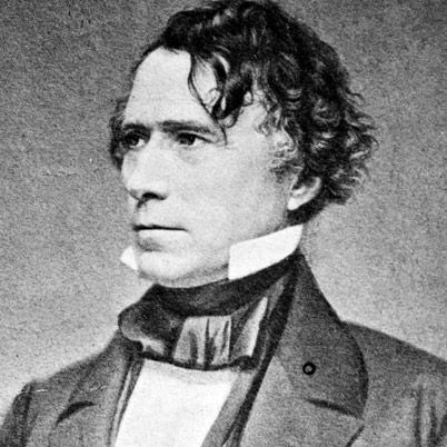 NAME: Franklin Pierce  OCCUPATION: U.S. President  BIRTH DATE: November 23, 1804  DEATH DATE: October 08, 1869  PLACE OF BIRTH: Hillsboro, New Hampshire  more about Franklin  BEST KNOWN FOR    Despite being a lesser-known candidate, Franklin Pierce served as the 14th president of the United States from 1853 to 1857.